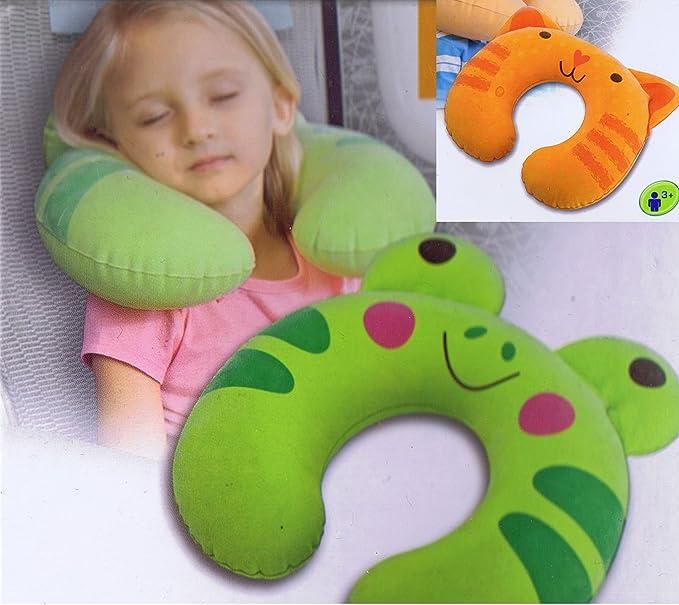 2 pieza niños almohada Cervical almohada cervical hinchable ...