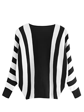819718a6a5d3d6 Amazon.com  Milumia Women s Casual Slit Hem Marled Knit Pullovers ...
