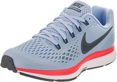 Estrictamente miércoles Sedante  Amazon.com: Nike Air Zoom Pegasus 34 Zapatillas de running para mujer,  color azul y azul (9): Shoes