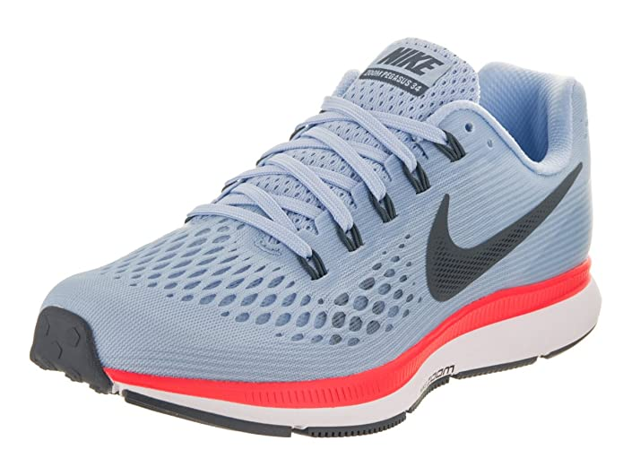 Amazon.com | Nike Womens Air Zoom Pegasus 34, ICE BLUE/BLUE FOX Running Shoe (9) | Road Running