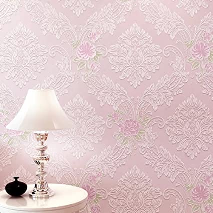 European Style Big Non Woven Wallpaper Rural Wallpapers Pale