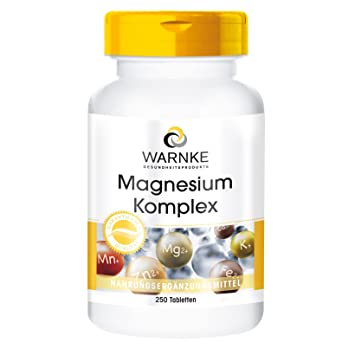 Warnke Magnesium Komplex, 250 Tabletten: Amazon.de: Drogerie ...