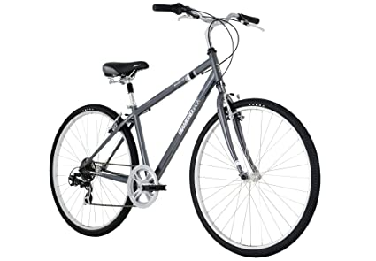 Amazon Com Diamondback Kalamar Lx Mens Sport Hybrid Bike 700c