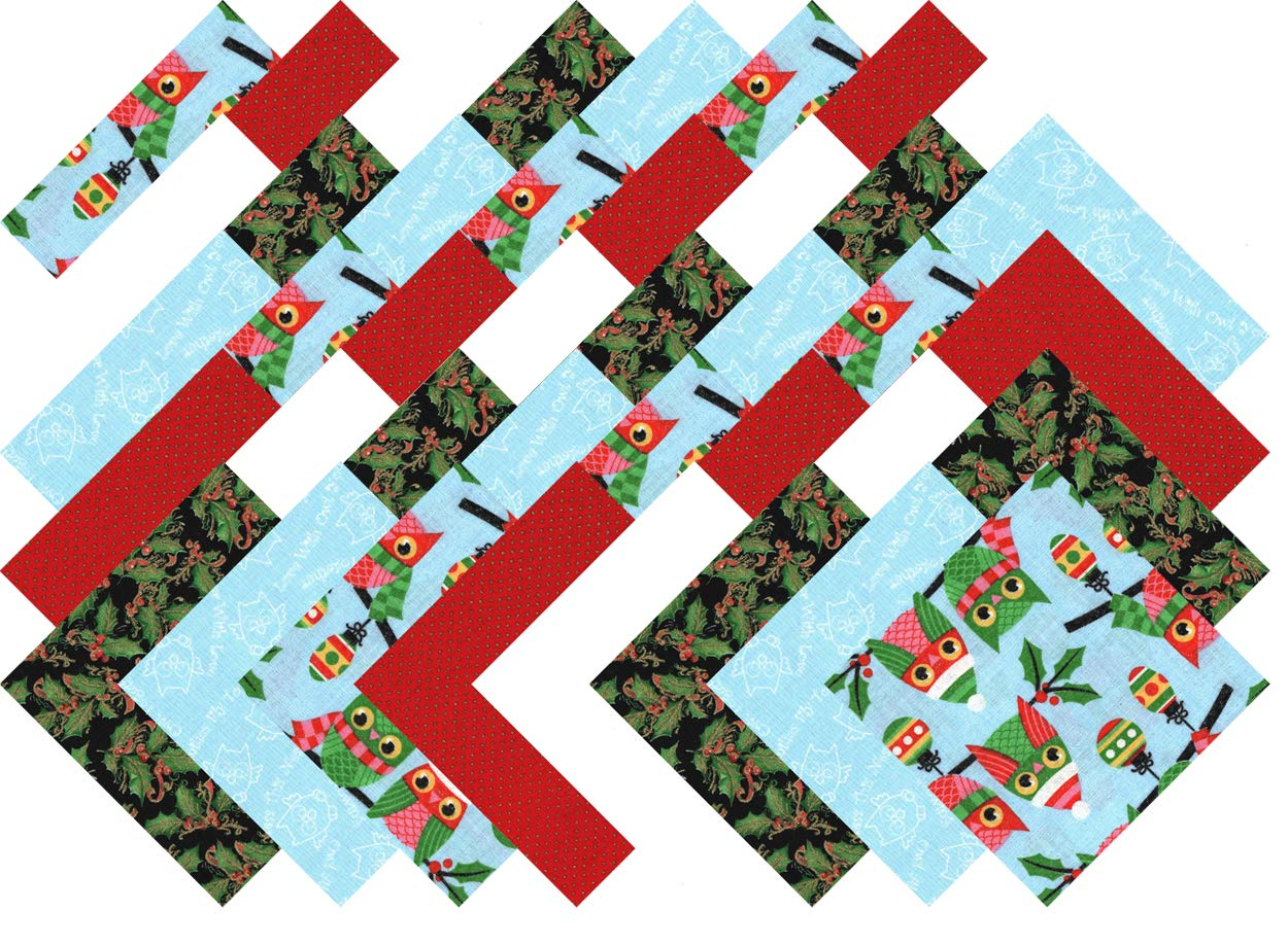 Christmas Collection 40 Precut 5-inch Quilting Fabric Squares Ducat Direct