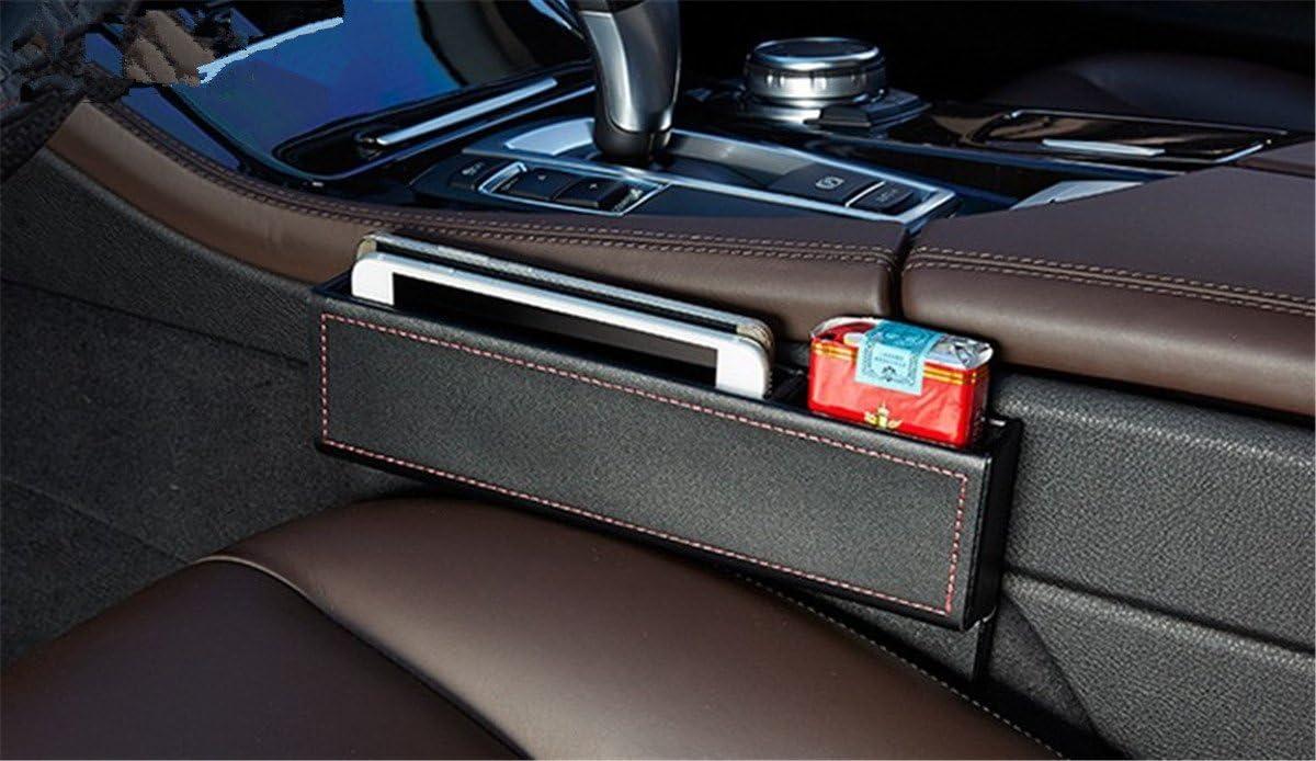 Black Car Storage Box Gap Filler Plastic Console Pocket Organizer Interior Accessories Car Seat Side Drop Caddy Catcher #Pennytupu
