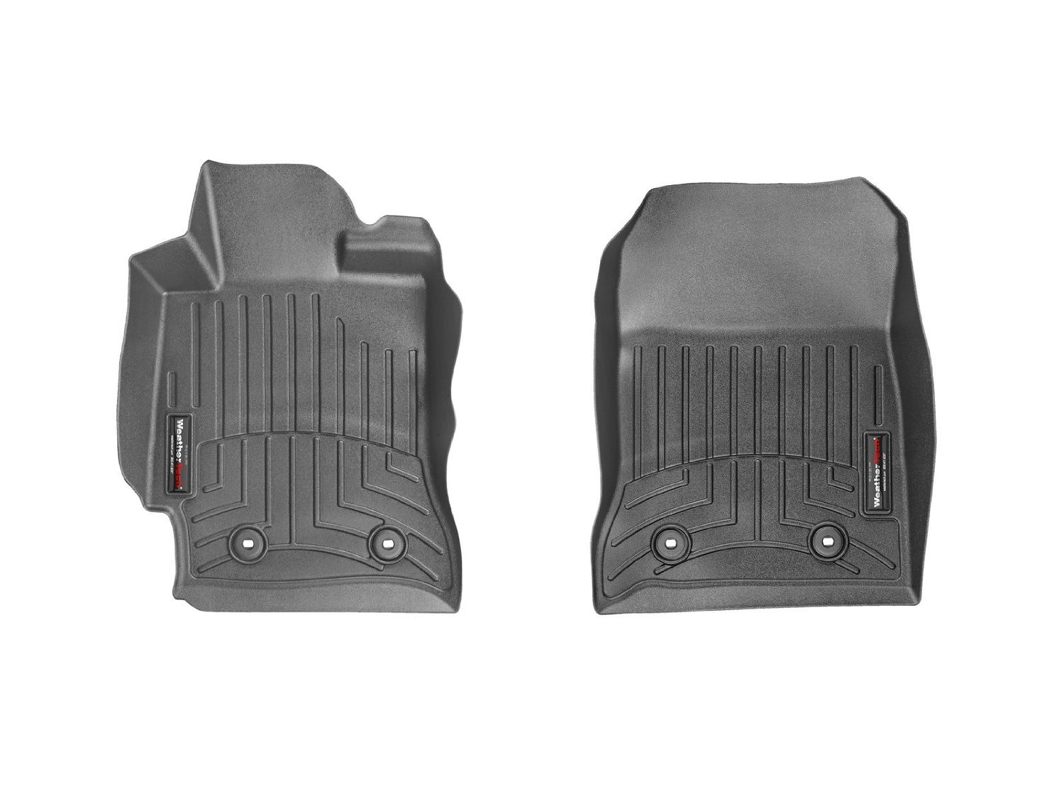 WeatherTech (444821) FloorLiner, Front, Black