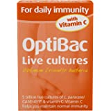 OptiBac Live Cultures - 'For daily immunity' - 30 Capsules