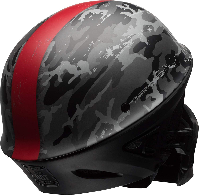 Bell Rogue Half-Size Motorcycle Helmet Ghost Recon Camo, Medium