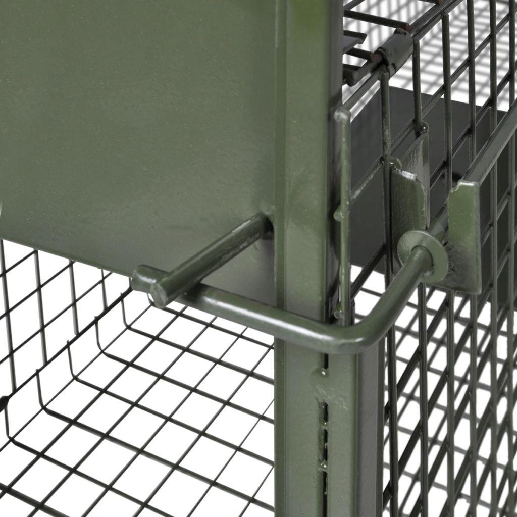 Vislone Plegable 2 Animal Jaula Trampa Zorro Conejo Control de ...