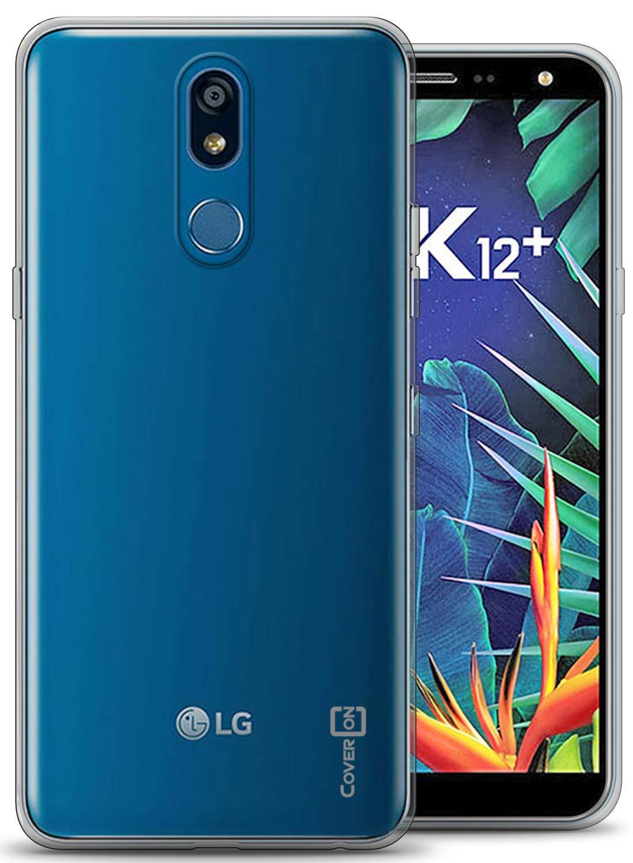 CoverON Slim Fit TPU Rubber FlexGuard Series for LG K40 Case/LG K12 Plus Case/LG X4 2019 Case, Clear