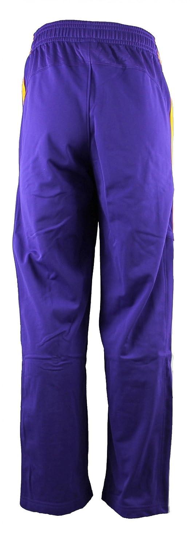 adidas LA Lakers NBA Baloncesto de poliéster Pantalones de chándal ...