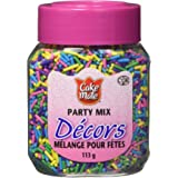Cake Mate, Decorating with Ease, Decors Sprinkles, Party Mix, 113g