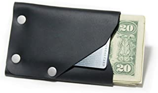 product image for Leather Front Pocket Minimalist Wallet - Slim, Compact, Thin Credit Card Wallet