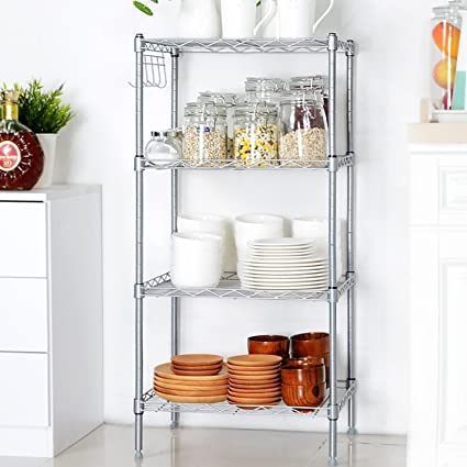 Amazon.com: Iekofo Shelving Unit Storage Standing Shelf Units ...