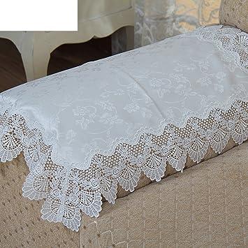 el brazo de la toalla de sofá mantel de encaje mantel pa?o de la mesa de té del toalla multiuso de cortina -A 130x180cm(51x71inch): Amazon.es: Hogar