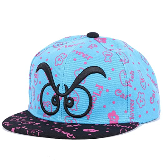fc650b9b470 Image Unavailable. Image not available for. Color  New caps Trendy Design Children  Hip hop Snapback Hats Simple Letter Beauty Baby Baseball Cap boy