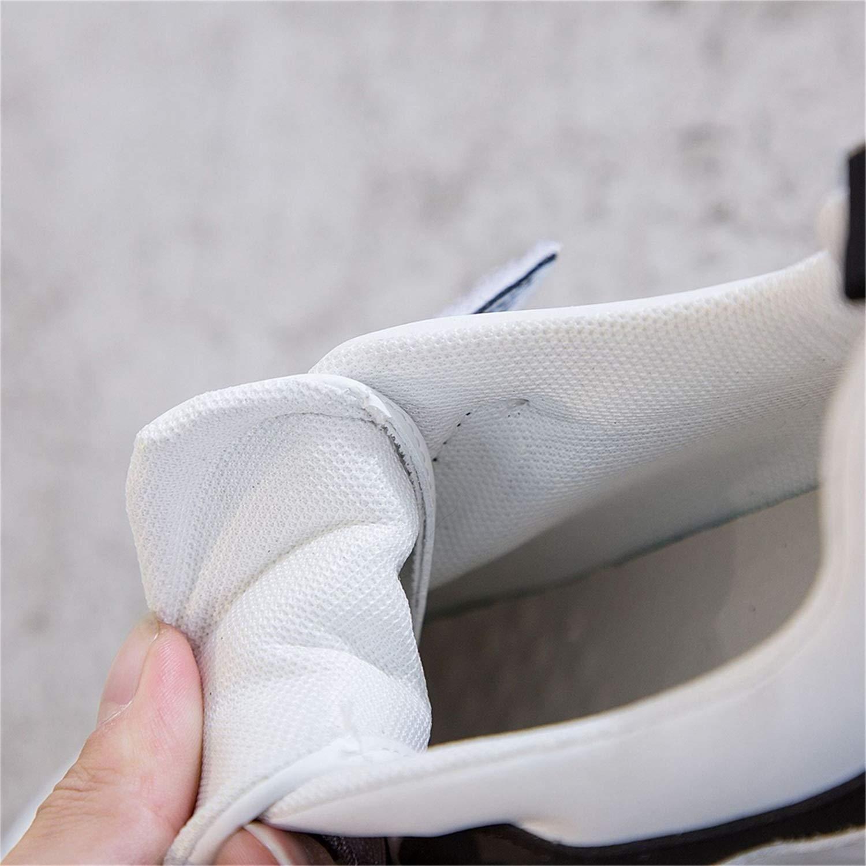 YAN damen es Casual schuhe Microfiber Microfiber Microfiber Low-Top Turnschuhe Fashion Shallow Mouth Platform schuhe Outdoor Walking schuhe Weiß schwarz Weiß 36 b8bf04