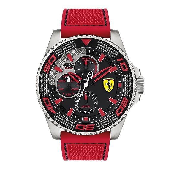 """Ferrari para hombre reloj Kers Xtreme analógica"