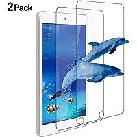 [Paquete de 2] Protector de pantalla para Apple iPad Air / Air 2 / nuevo iPad 9.7 (2017 / 2018), ivencase Borde redondeado de vidrio templado premium [Sin burbujas] [Anti-Scratch] [Fácil instalación] [9HD] Protector de pantalla ultradelgado y transparente para Apple iPad Air / Air 2 / iPad (9,7 Pulgadas, 2018/2017 Modelo, 6ª / 5ª generación)