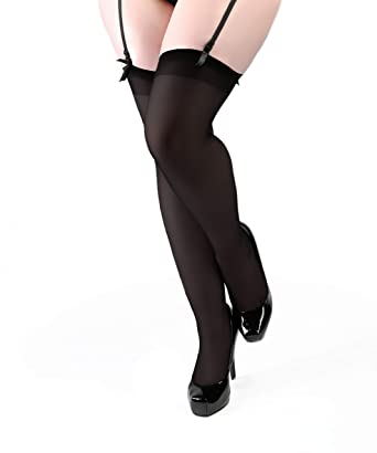 ba65594c7a1 Miss Naughty Opaque Stockings including XL