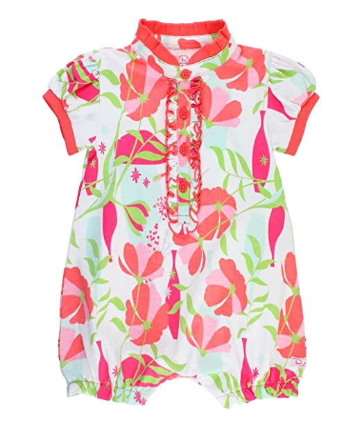 645369686622 Amazon.com  RuffleButts Baby Toddler Girls Sweet Stems Ruffle Romper ...