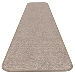 House, Home and More Skid-Resistant Carpet Runner - Pebble Beige - 6 Feet X 27 Inches