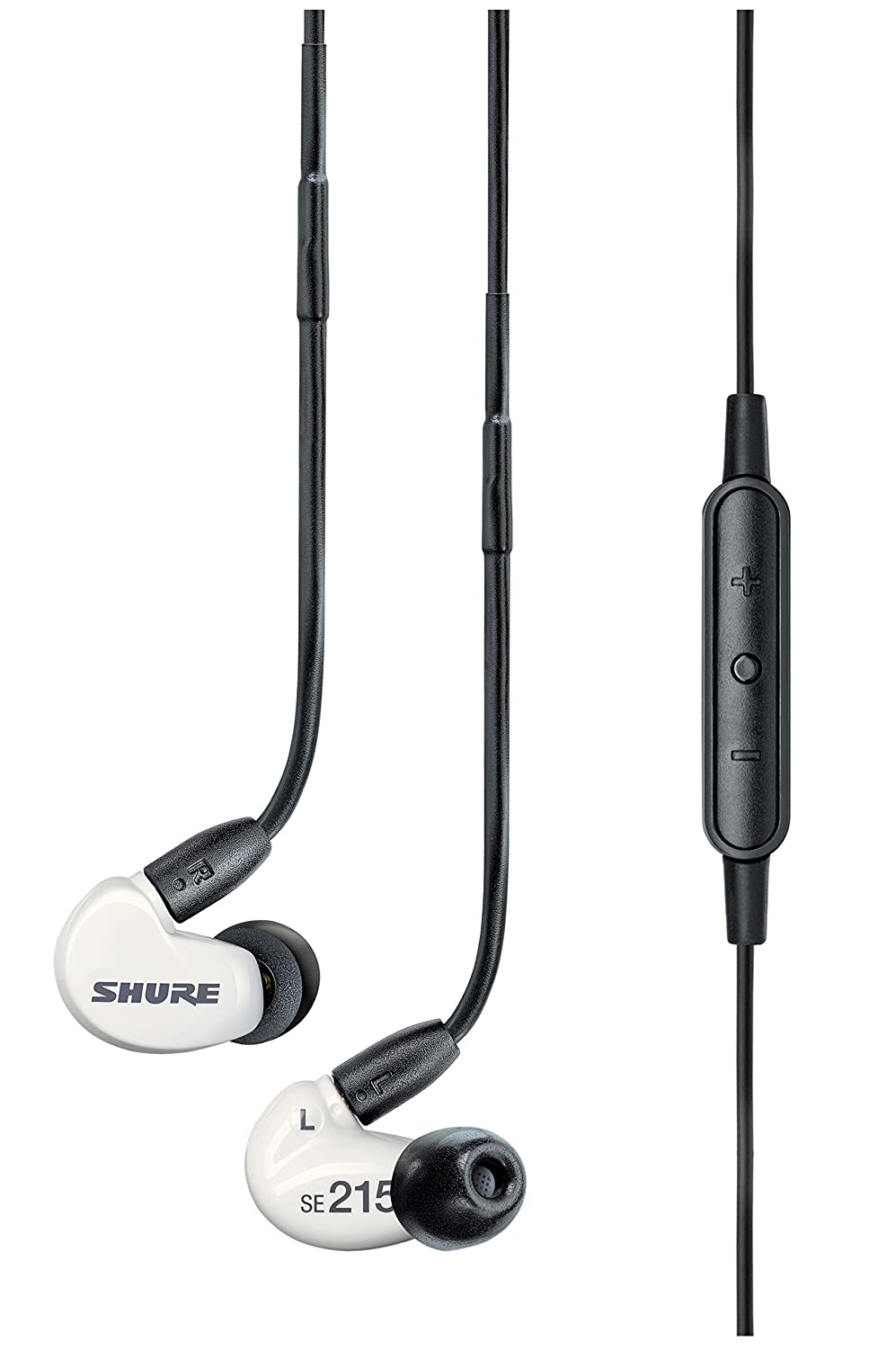 Shure SE215m+ Special Edition Sound Isolating Earphones with White Remote and Microphone SE215m+SPE