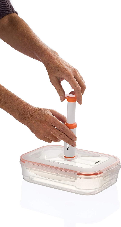 Bomba de vac/ío Nutrifresh to Go para Nutrifresh contenedores de almacenamiento al vac/ío