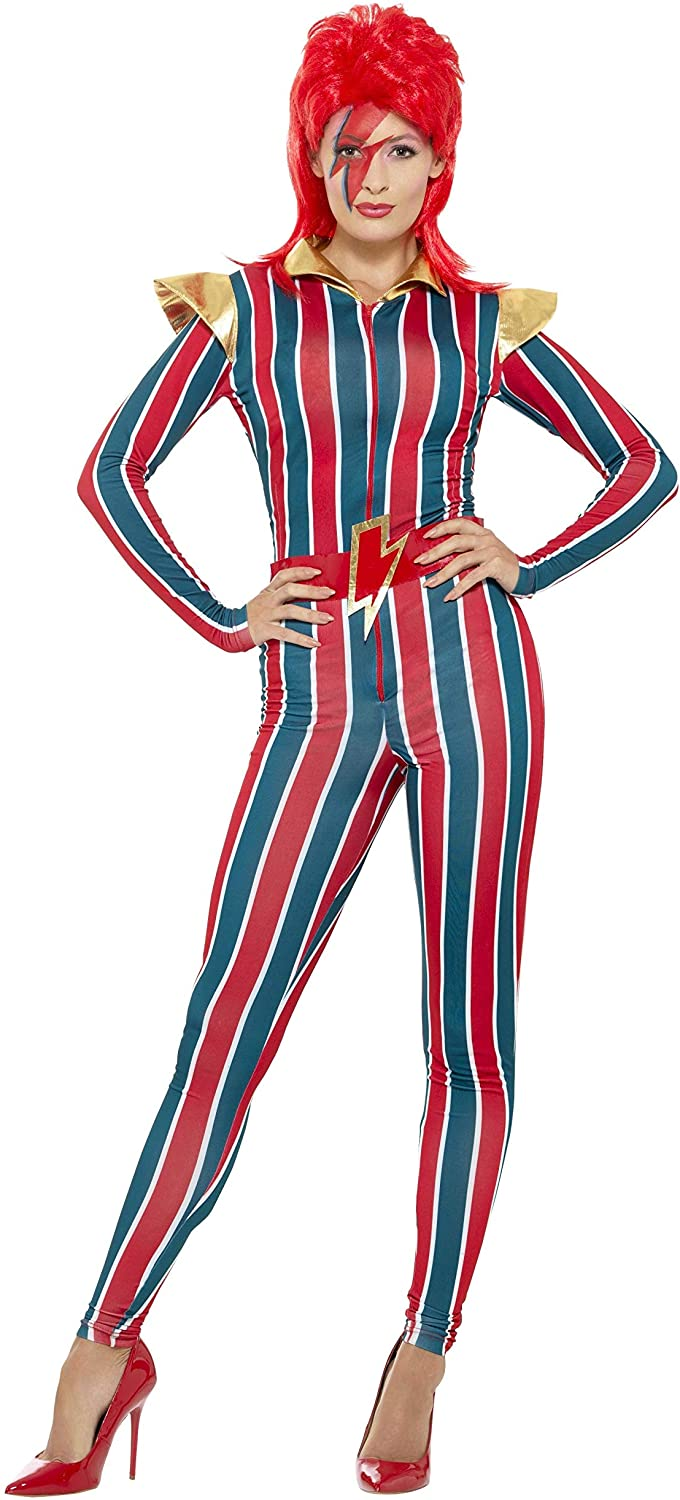 80s Costumes, Outfit Ideas- Girls and Guys Smiffys Miss Space Superstar Costume £27.81 AT vintagedancer.com