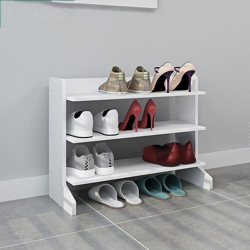 EIDUOシューズラック 靴ラックシェルフ高品質のプレート白70 * 25 * 50cm/70 * 25 * 78cm 自宅に適しています B07DJZYCLY
