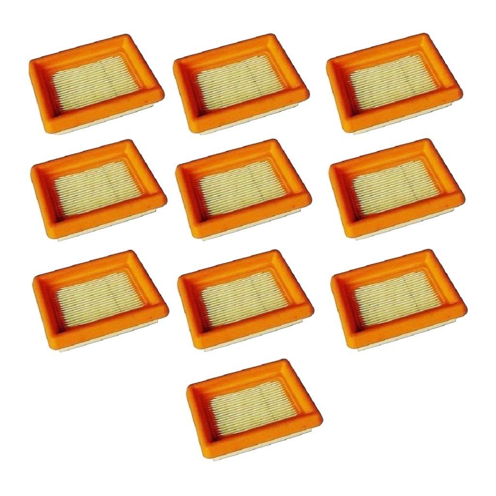 B Blesiya 10 Pack Filtre /à Air pour D/ébroussailleuses STIHL FS120 FS200 FS250 FS300 FS450