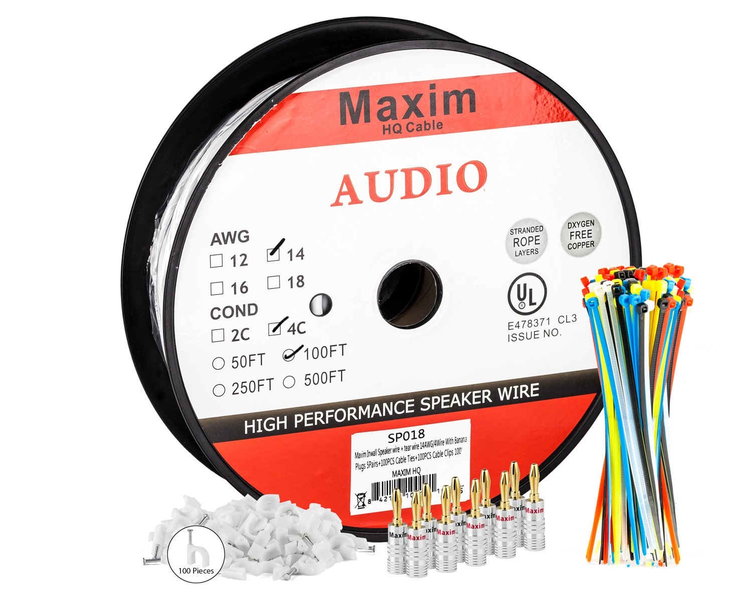 auxincl3 / 4 100 Ft LYSB01IA7R6XS-ELECTRNCS B01IA7R6XS 100 Ft|14AWG 14AWG 100 Ft