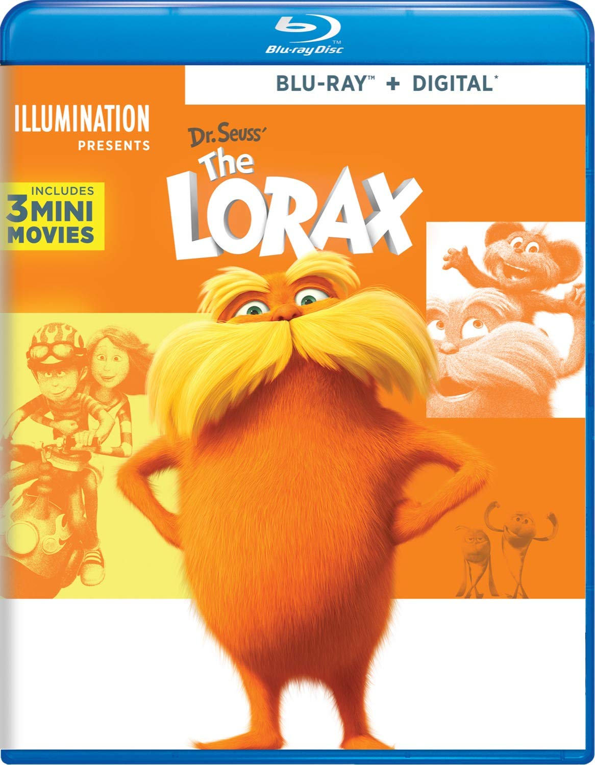 Dr Seuss The Lorax Edizione: Stati Uniti Italia Blu-ray: Amazon.es: Renaud, Chris, Balda, Kyle, DeVito, Danny, Efron, Zac, Helms, Ed, White, Betty, Swift, Taylor, Smith, Willow, Riggle, Rob, Lynn, Sherry: Cine y