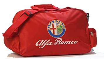 Alfa Romeo Logo Duffle Viajes Deporte Gimnasio Bolsa Mochila