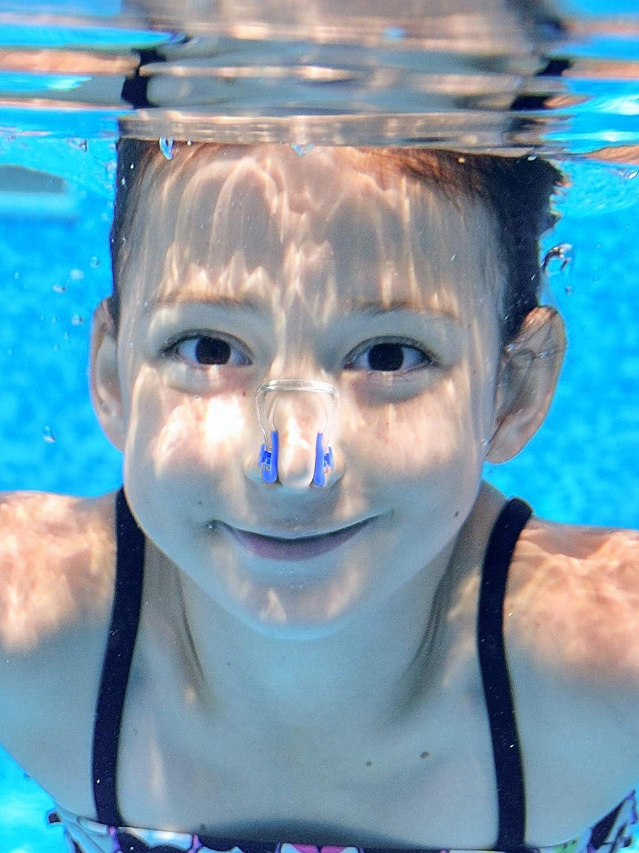 Hicarer 14 St/ück Nase Clip Schwimmen Nase Plug Swim Nasenschutz f/ür Schwimmen 14 Farben