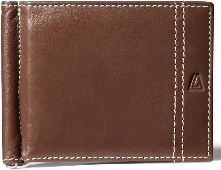 RFID Blocking Ladies Wallet Small RFID Wallet Bifold 7 Slot Top Quality Leather Cognac