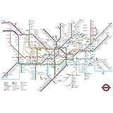 Pyramid London Underground Map