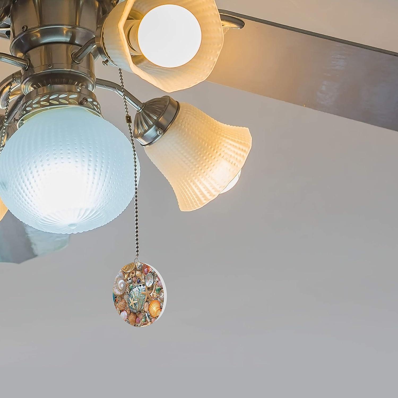 Seashell Beach Fan//Light Pull
