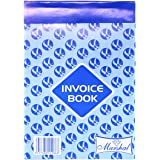 Invoice Book, Blue