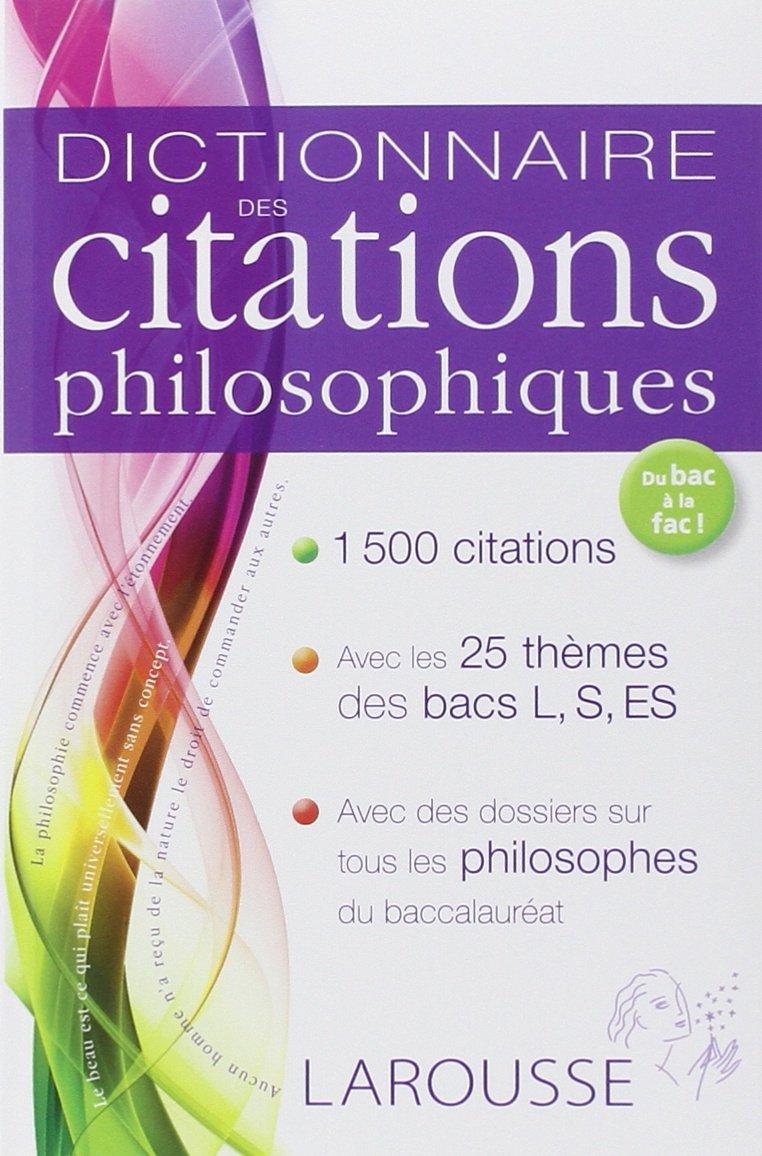 Amazon Fr Dictionnaire Des Citations Philosophiques