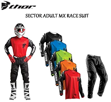 THOR SECTOR ADULT MX RACE SUIT Moto nueva 2018 Motocross Enduro ...