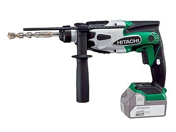 hitachi hammer drill. hitachi dh18dsl/l4 18v sds-plus rotary hammer drill - body only (slide l