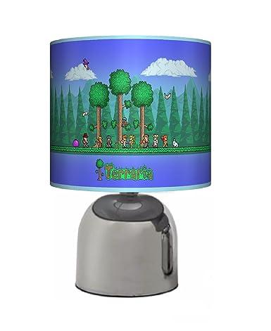 TERRARIA GAME / GAMING / GAMER   BEDSIDE TOUCH LAMP   BOYS / GIRLS BEDROOM  LIGHT