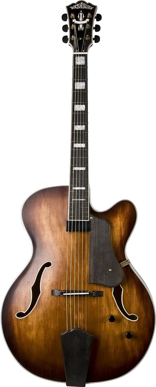 Washburn ワッシュバーン Jazz Series J600K Jazz Guitar, Vintage Matte アコースティックギター アコギ ギター (並行輸入) B0058GZRNQ