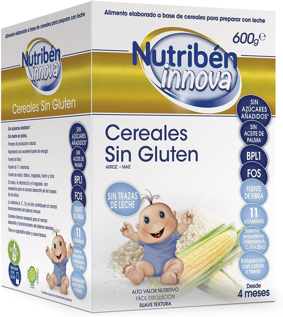 Nutribén Papillas Innova Cereales Sin Gluten Desde Los 4 Meses 600 gr