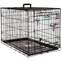 """Precision Pet by Petmate """"ProValu"""" Two Door Wire Dog Crate with Precision Lock System, 6 Sizes"""