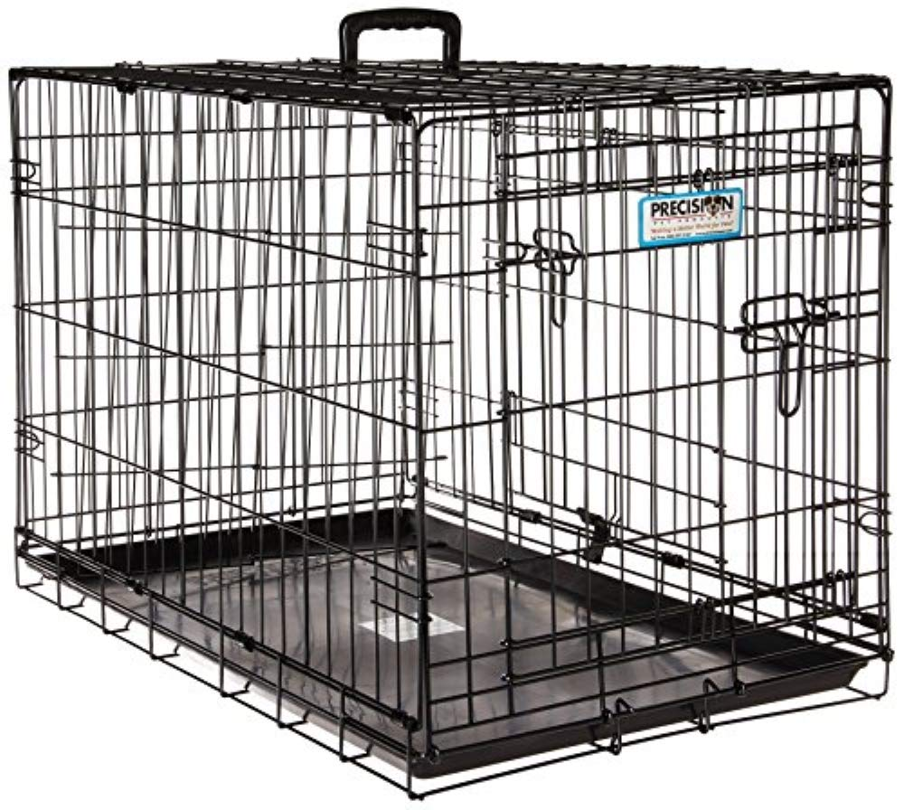 Petmate ''ProValu'' Wire Dog Crate, Two Doors, Precision Lock System, 6 Sizes