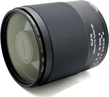 Tokina Szx 400mm F8 Mf Canon Ef Mount Kamera