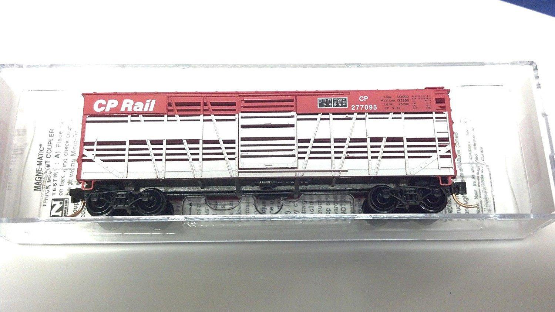 Micro Trains N 40' Wood Stock Car CP