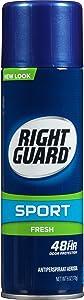 Right Guard Sport Antiperspirant Aerosol, Fresh, 6 Ounce